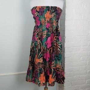 Moda International strapless dress